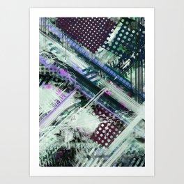 Tracking code Art Print