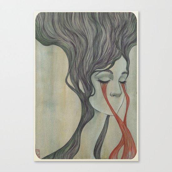 Former Flower Canvas Print