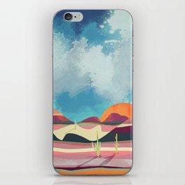 Pink Desert Glow iPhone Skin