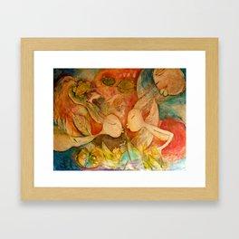 EL BESO Framed Art Print