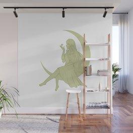 Moon Girl Wall Mural