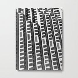 San Francisco Abstract 3 Metal Print