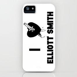 I Heart Elliott Smith iPhone Case
