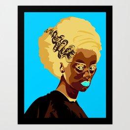 Madam Frankenstein  Art Print