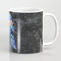 video game Mugs featuring Mega Man classic, Retro video game. by Lewys Williams