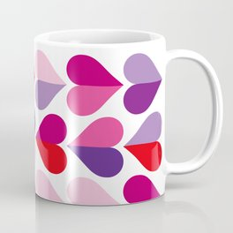 Love and Kisses in Ultra Violet Coffee Mug
