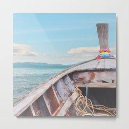 #boatlife Metal Print