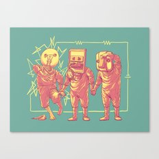 Experimental Idea Canvas Print