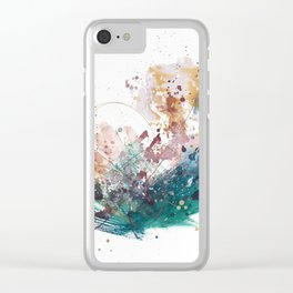 Feels Like Fall Clear iPhone Case