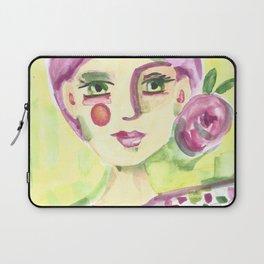 Lavender Lady Laptop Sleeve
