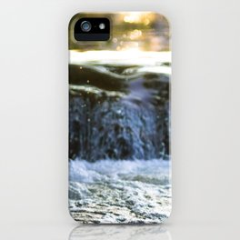 Chasing Waterfalls iPhone Case