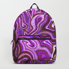Abstract #1 - I Purple Winter Backpack
