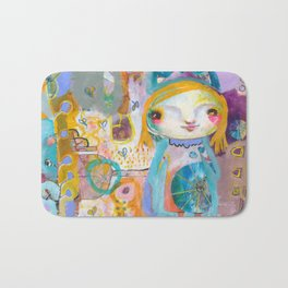 Moon Face Bath Mat