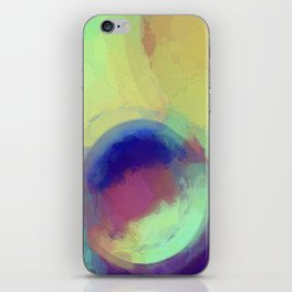 Colorful Abstract Painting iPhone Skin