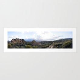 Cederberg sunset Art Print