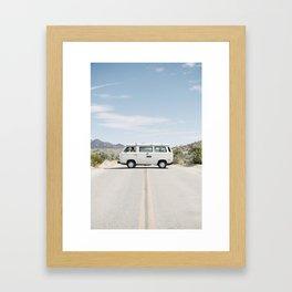 California Westafalia Gerahmter Kunstdruck
