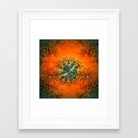 decorative Framed Art Prints featuring Decorative design by nicky2342
