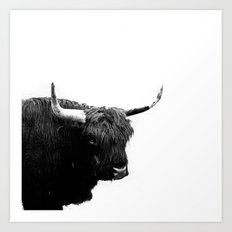 Lumbering Beast II  Art Print