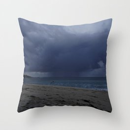 Storm over St Ives Throw Pillow