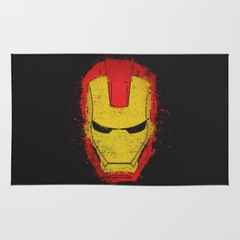 Iron Man splash Rug