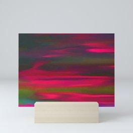 Lucid varying dark Mini Art Print