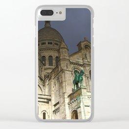 Sacré-Cœur Basilica Clear iPhone Case