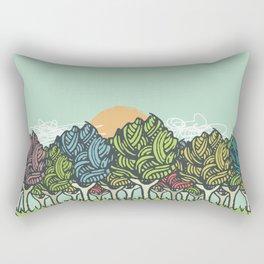 Enchanted Wood Rectangular Pillow