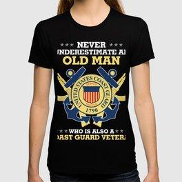 U.S Coast Guard Veteran Tee shirt T-shirt