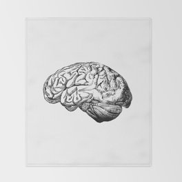 Brain Anatomy Throw Blanket