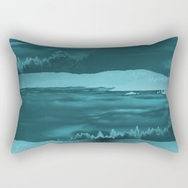 Water cometh to the Forest.... Rectangular Pillow