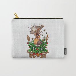 Woodland Rabbit King Carry-All Pouch