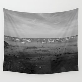 From the Shore - Plymouth Massachusetts Shoreline Wall Tapestry