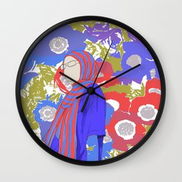 An American Girl Wall Clock