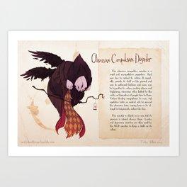 Real Monsters- OCD alt Art Print