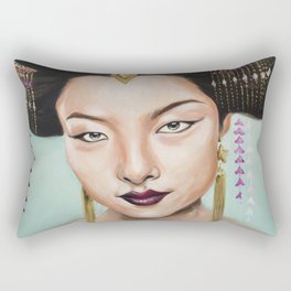 Wu Zetian Rectangular Pillow