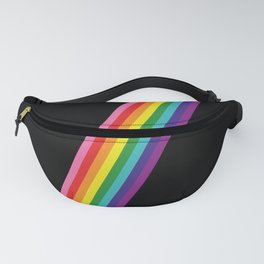 Rainbow Slash Fanny Pack