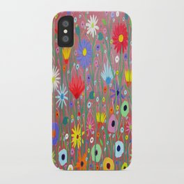 Flowers-Abstracts  iPhone Case