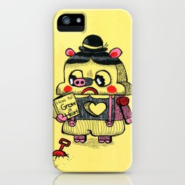 To be real iPhone Case