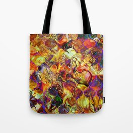 V15 Lovely Traditional Moroccan Pattern Colored Design Waves. Tote Bag