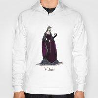 valar morghulis Hoodies featuring Vaire by wolfanita
