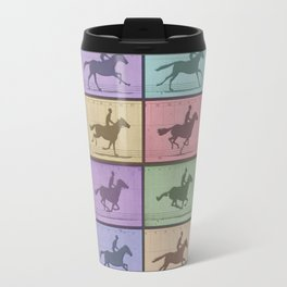 Time Lapse Motion Study Horse Color Travel Mug