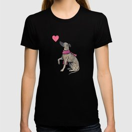 Watercolour Whippet T-shirt