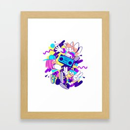 The Boys Are Back Framed Art Print