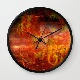 End Of The World??? [SWAG] Wall Clock