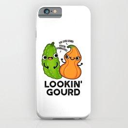 Lookin Gourd Cute Veggie Pun iPhone Case