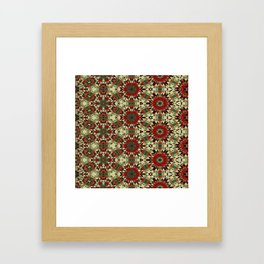 Holiday Abstracts 1 Framed Art Print
