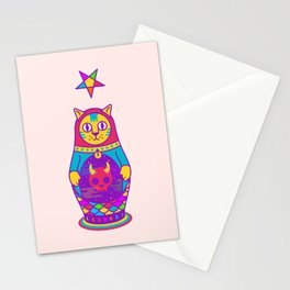 Malevolent Kitty Stationery Cards