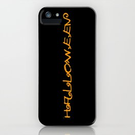 Halloween I iPhone Case