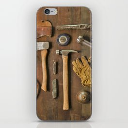 Tools (Color) iPhone Skin