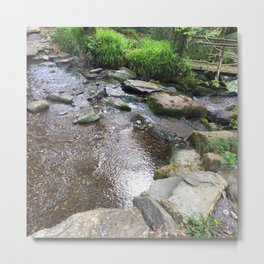 Where Fairies Live - The Stream Metal Print
